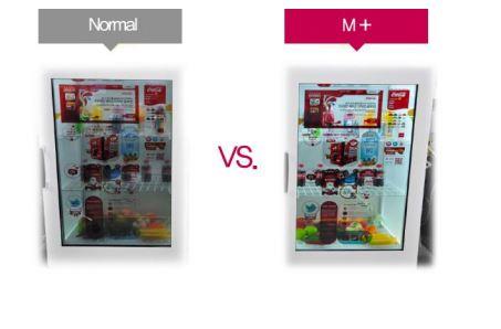 Normal VS M+