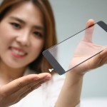 [Photo 1] LG Innotek introduces cover glass which is embeded fingerprint sensor module