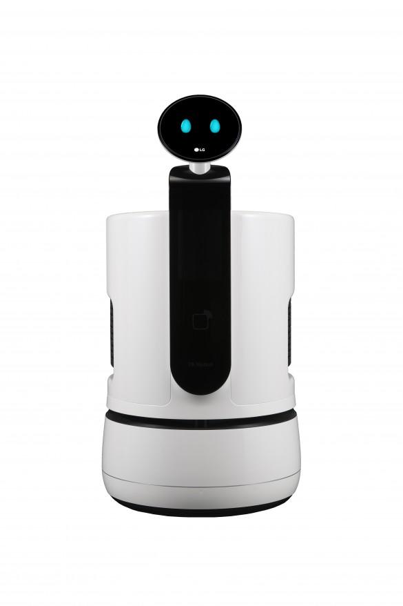 LG-Shopping-Cart-Robot