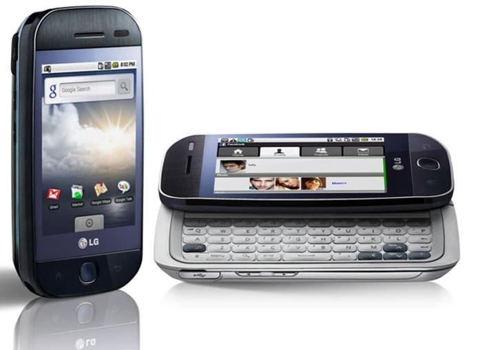 اولین گوشی اندرویدی ال جی