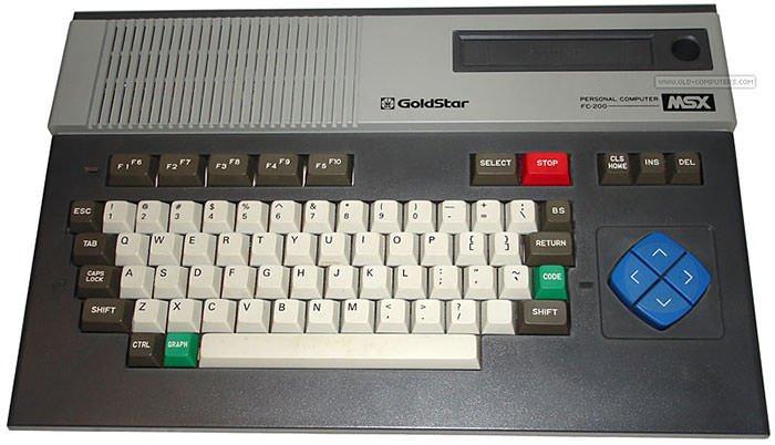 یکی از اولین کامپیوترهای گلداستار