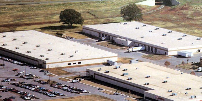 یکی از اولین کارخانههای ال جی