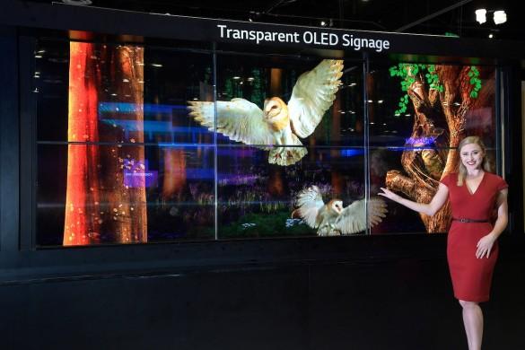 Transparent-OLED-signage